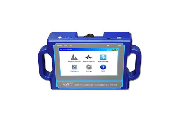 Détecteur d'eau de cartographie automatique PQWT-S500 pour 100/150/300/500 m de profondeur