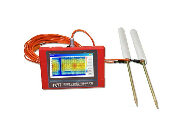 Detector de agua de mapeo automático PQWT-TC150 para 150 m de profundidad