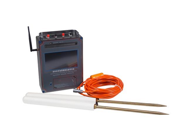 Detector de agua de mapeo automático PQWT-TC700 para 150/300/500/600 m de profundidad